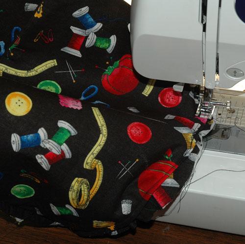 sew basket bottom