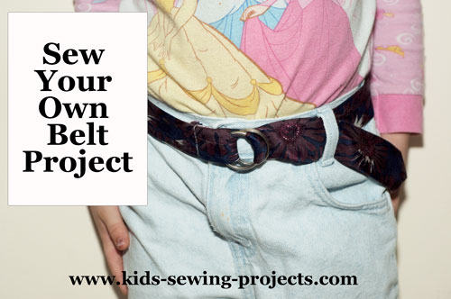 sew your own belt project