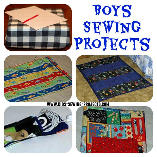 boys sewing projects