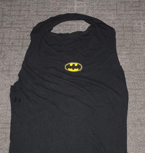 tshirt cape