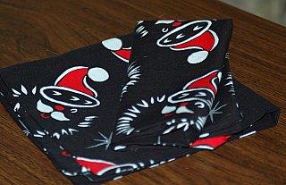 Christmas cloth napkin