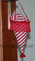 hanging christmas cone