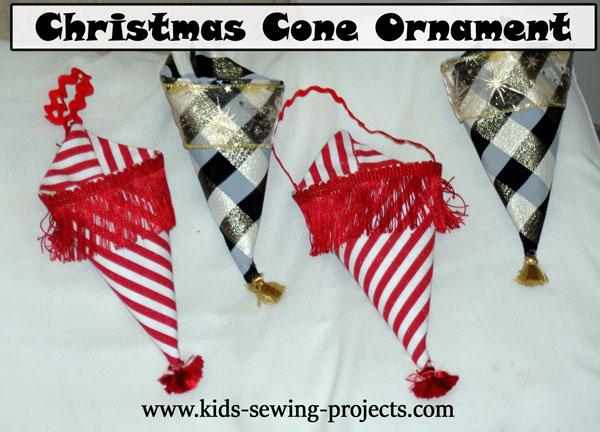 christmas cones