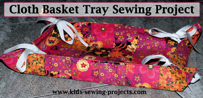 cloth basket tray