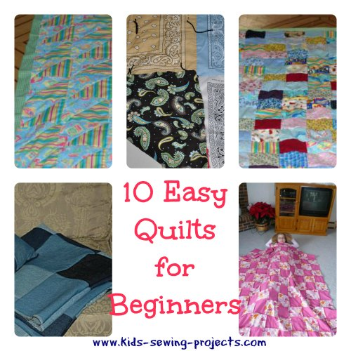 10 Easy Quilts For Beginners
