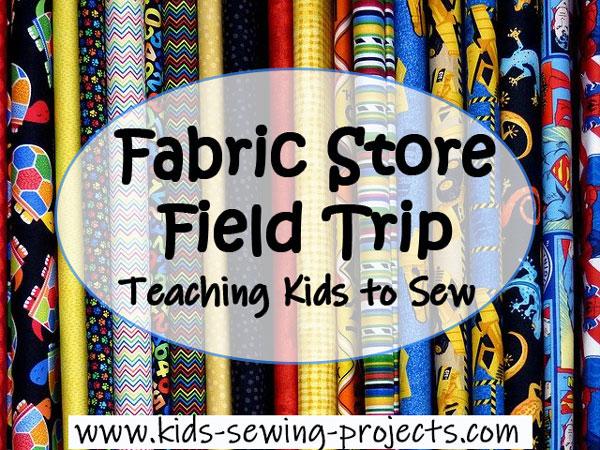 fabric store field trip