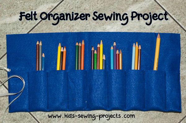 felt organizer project
