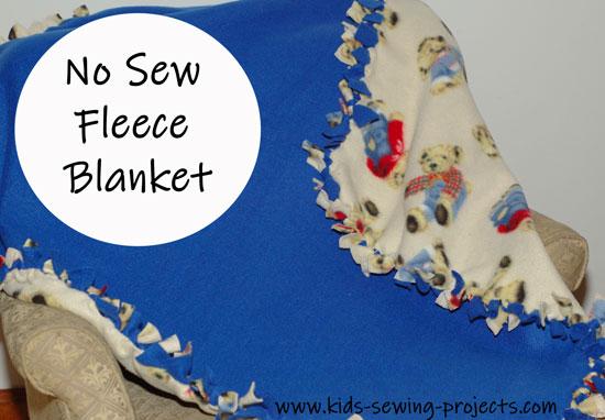 fleece blanket done
