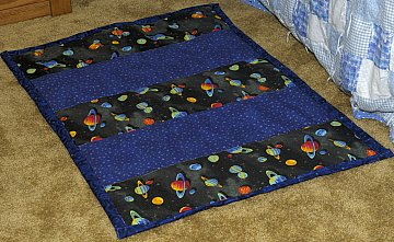 floor rug quilted