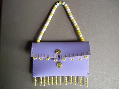 foam purse
