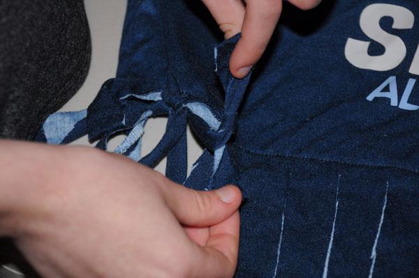 tying fringe