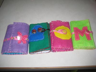 felt organizer for kids sewing projects level 2  learning