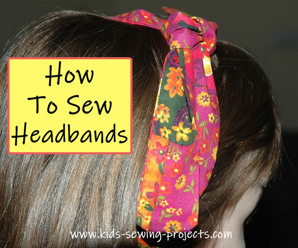 how to sew headband projects