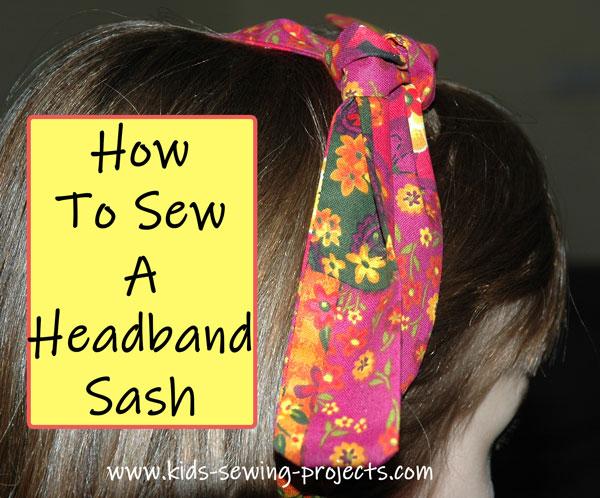 headband sash