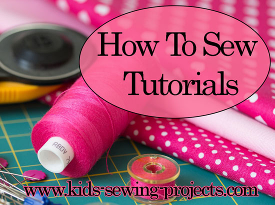 how to sew tutorials