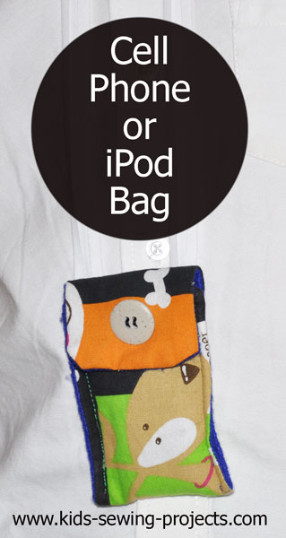 cell phone or ipod holder bag