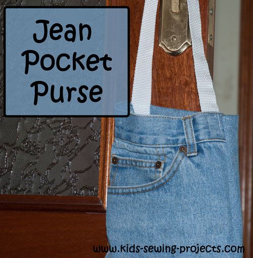 jean pocket purse