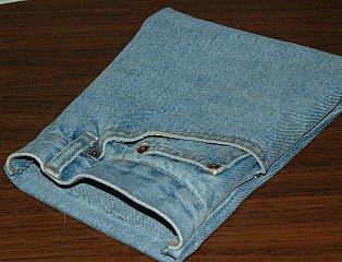 jean purse bag