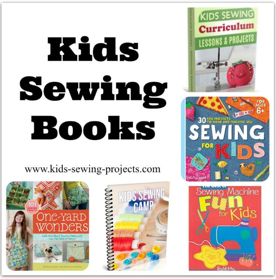 kids sewing books