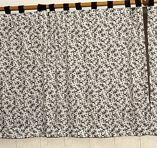 Sewing - Tab Top Curtains
