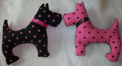 little stuffed dogs