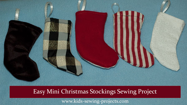 mini Christmas stockings project