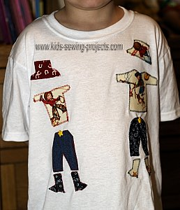 applique cowboy shirt