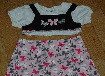 old shirt skirt