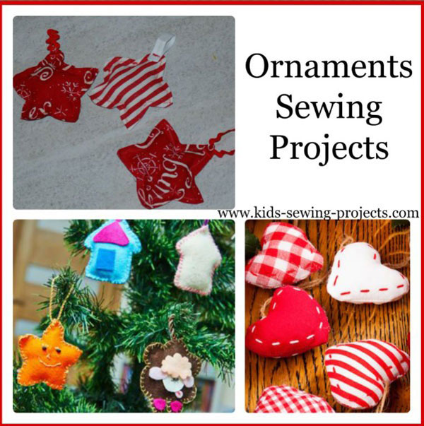 ornament sewing projects