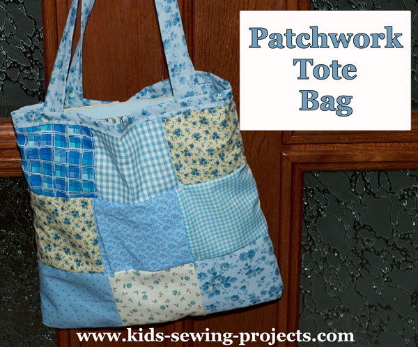 patchwork tote bag project
