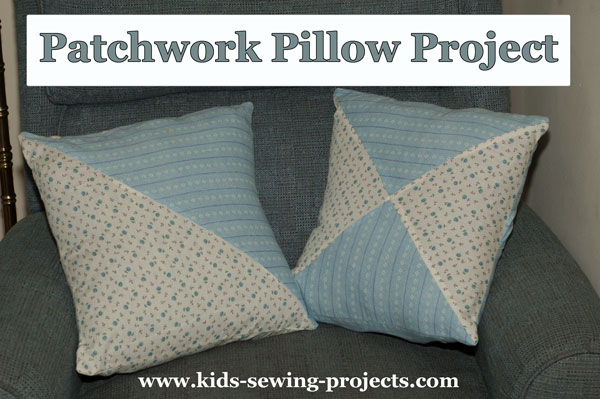 patchwork pillow covers