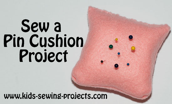 Pin cushion sewing project