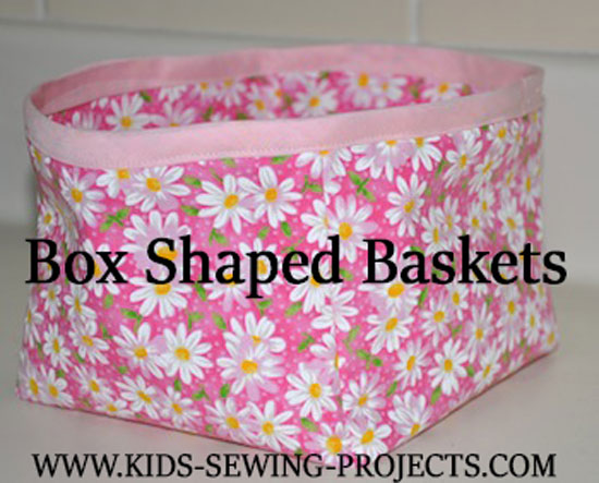 box with bias tape