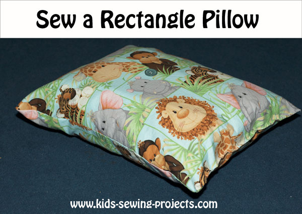 rectangle pillow project