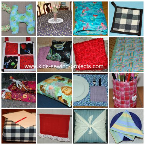 sewing for home collage