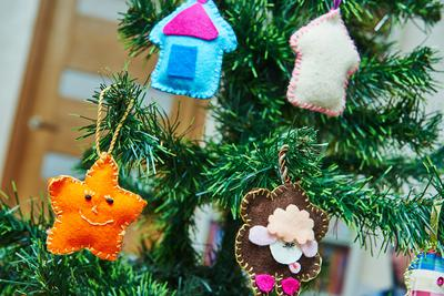 sew ornaments project
