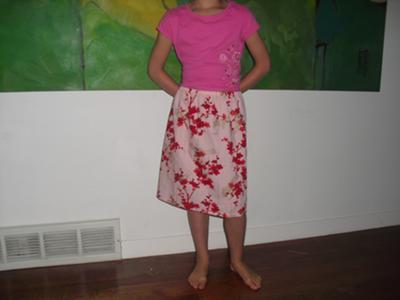skirt finished