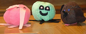 stuffed ball animals