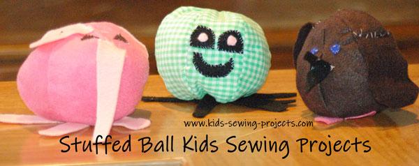 stuffed ball project