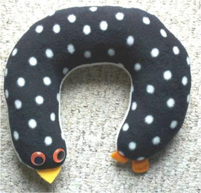 penguin neck pillow