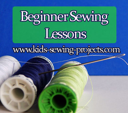 threads and needle beginner sewing lessons