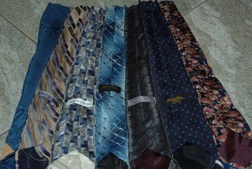 ties sewn together