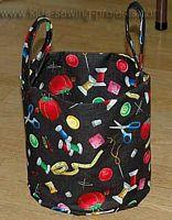 basket sewn