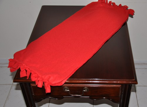 fleece table runner