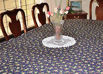 sewn tablecloth