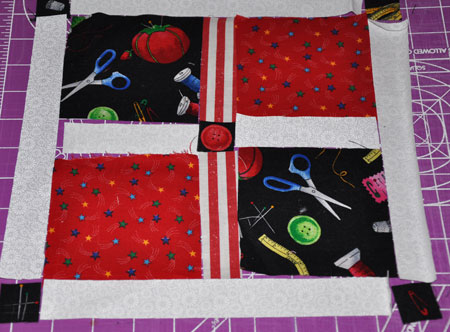 sewing square pattern