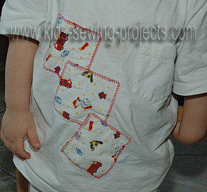 applique shirt