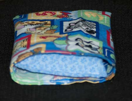 baby pillowcase done