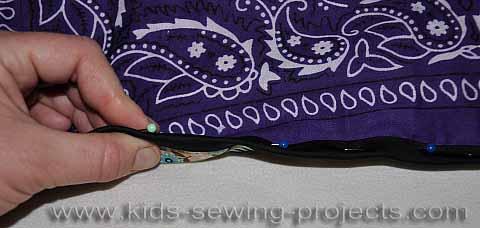 binding edge of blanket