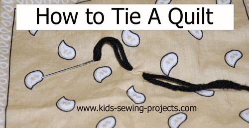 blanket how to tie